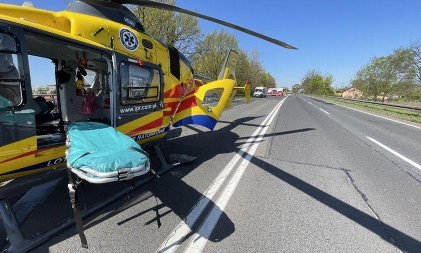 Tragiczne wypadki na drogach. Nie żyje dwóch rowerzystów.