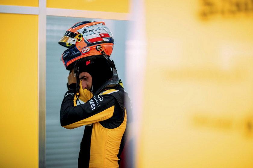 Kubica wypowiedział się po testach w Walencji