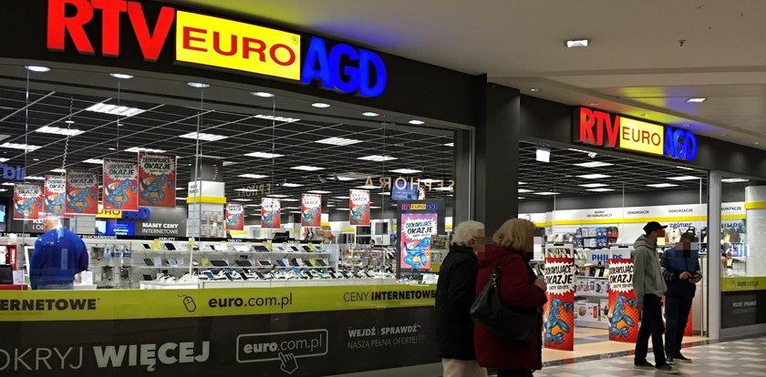 Sklepy RTV Euro AGD otwarte pomimo obostrzeń. Jakim cudem?