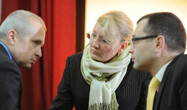 Beata Sawicka w sądzie