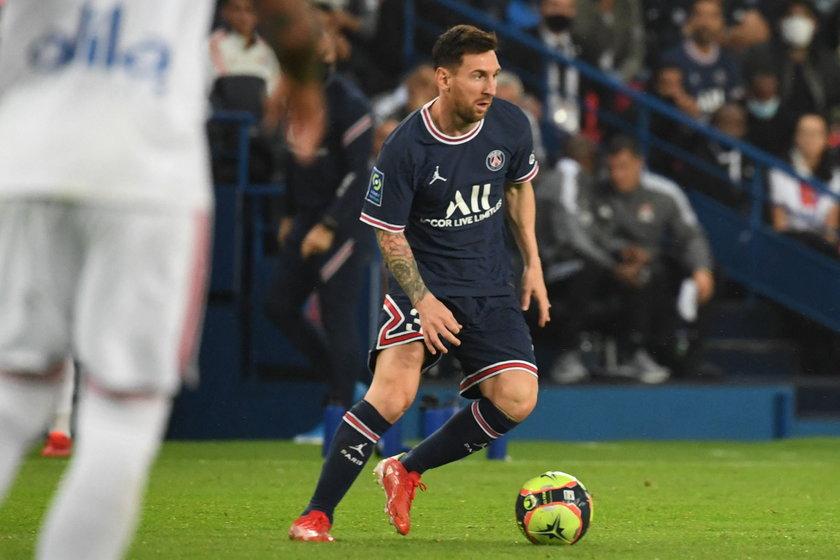 Lionel Messi (34 l.) na razie nie jest najmocniejszym punktem PSG.