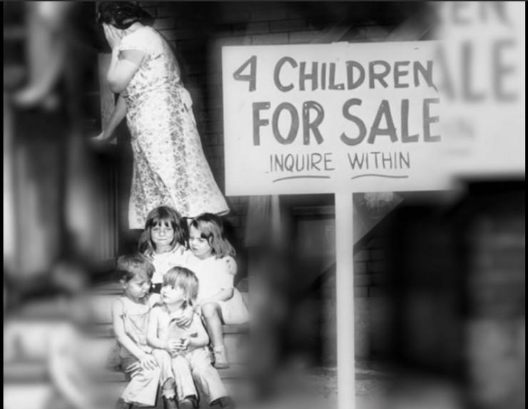 Majka prodala svoju decu