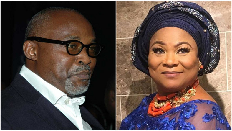 RMD and Sola Sobowale reunite for 'Gold Statue' as onscreen couple, 21 years after 'Diamond Ring' [Nigeriafilms/playground]