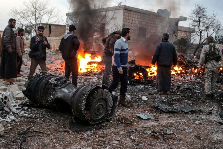 Sirija, ruski avion, EPA -  ABDALLA SAAD