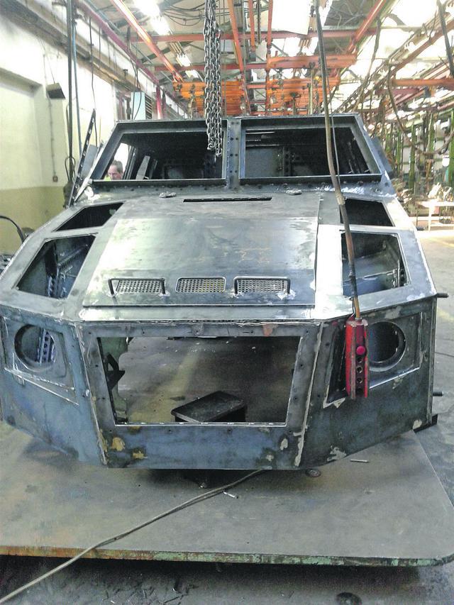 Ivice kabine su pod uglovima kako bi se smanjila silueta