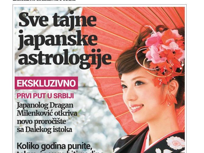 U novoj BLIC ŽENI samo za vas: KALENDAR SREĆNIH DANA za celu godinu, bez kog Japanci ne započinju dan!