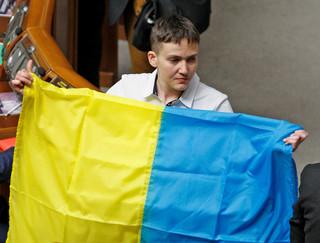 Nadia Sawczenko złoży wizytę w Sejmie. Spotka się z wicemarszałkiem i posłami