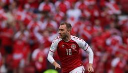 Christian Eriksen has played 109 times for Denmark. Creator: Friedemann Vogel