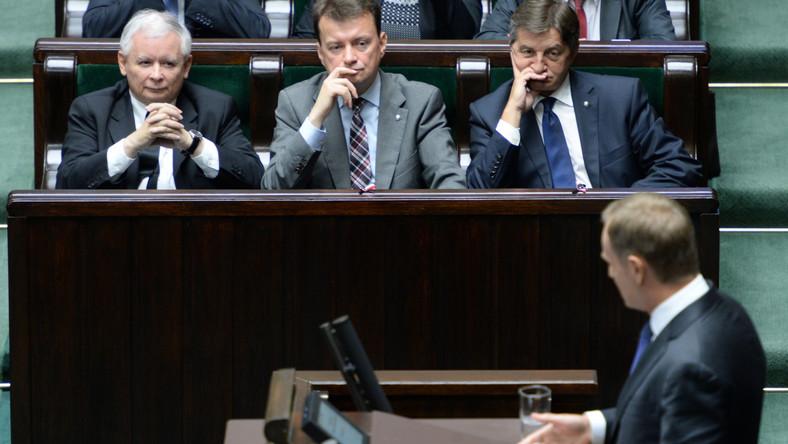 W Sejmie odbyła się debata nad wnioskiem PiS o konstruktywne wotum nieufności dla rządu Donalda Tuska