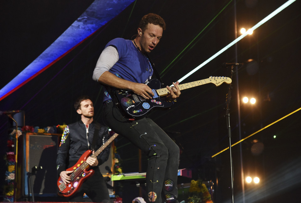 "Coldplay-""Viva La Vida"" i Joe Satriani-""If I Could Fly"""