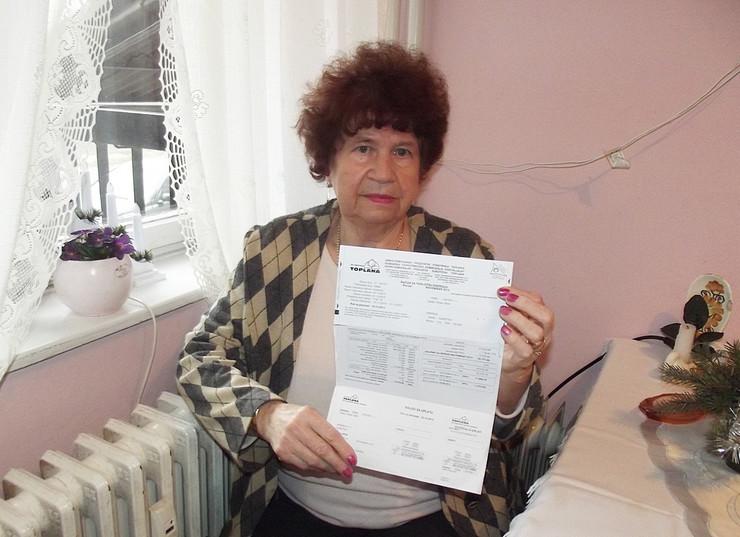 Irena Sabo Tenki dobila visok račun za struju Subotica
