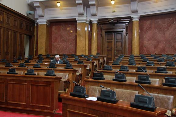 Bojkot opozicije skupštinskog rada počeo je početkom 2019. godine