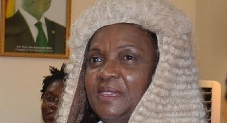 Chief Justice, Georgina Theodora Woode