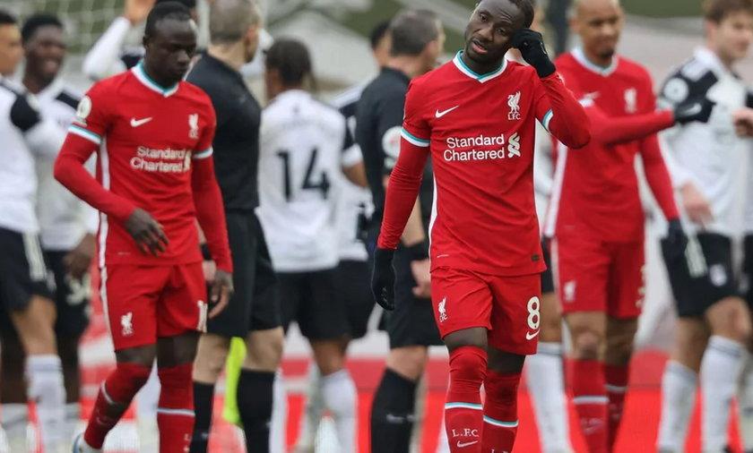 Na zdjęciu piłkarze Liverpoolu