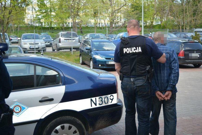 Zatrzymanie obywatela Francji w Sopocie