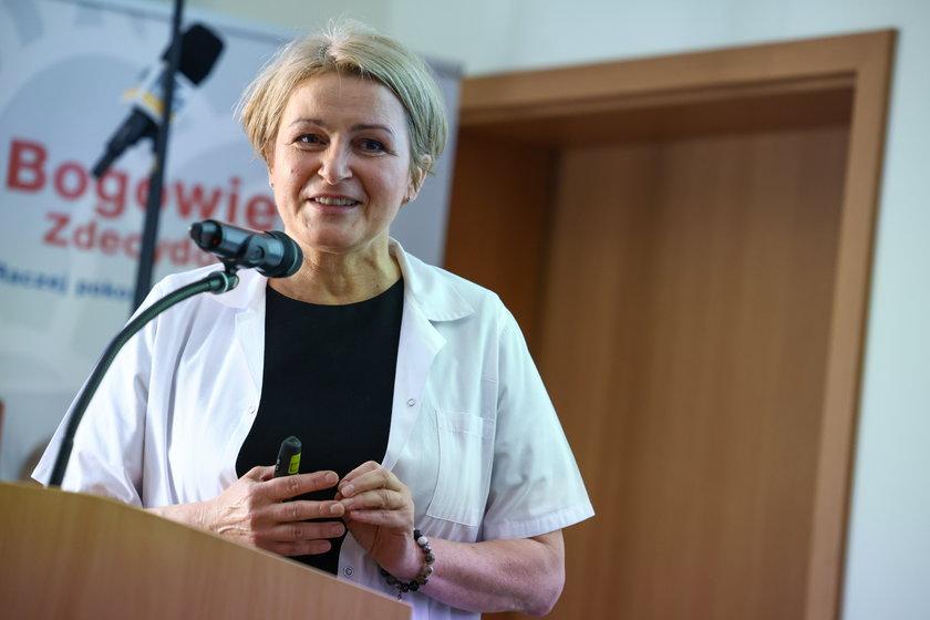 Anestezjolog Ewa Trejnowska