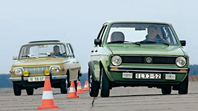 Volkswagen Golf I kontra Wartburg 353 - duet niemiecko-niemiecki