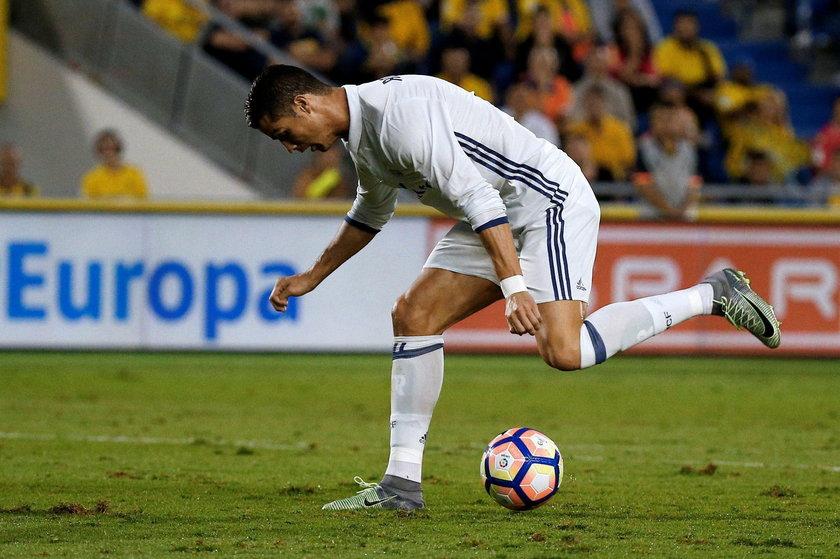 Wściekły Cristiano Ronaldo