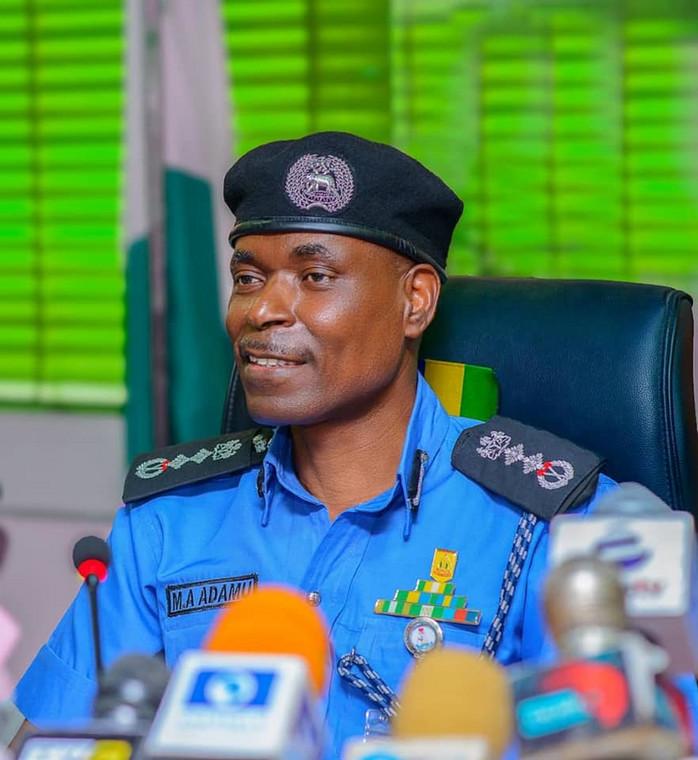 The Inspector-General of Police, Mohammed Adamu [NPF]
