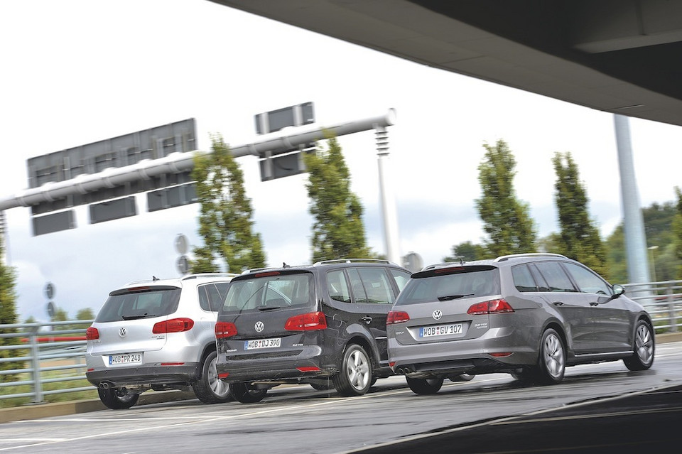 VW Tiguan, VW Touran, VW Golf Variant