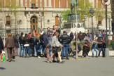 Turisti u Beogradu