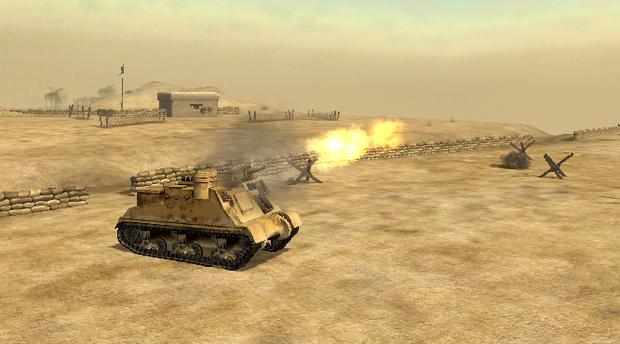Battlefield 1942 - tak w grze wyglądał Tobruk