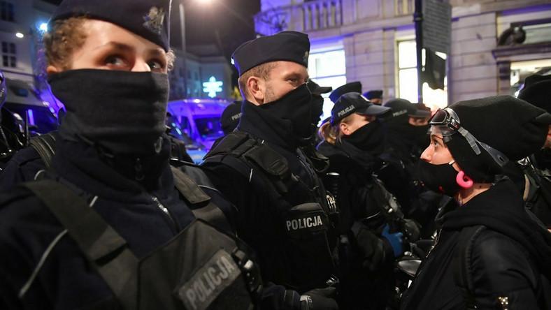 Policja na strajku