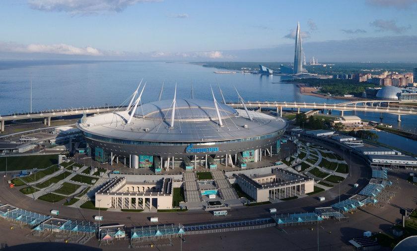 Ten rosyjski stadion nazywany jest pomnikiem korupcji.