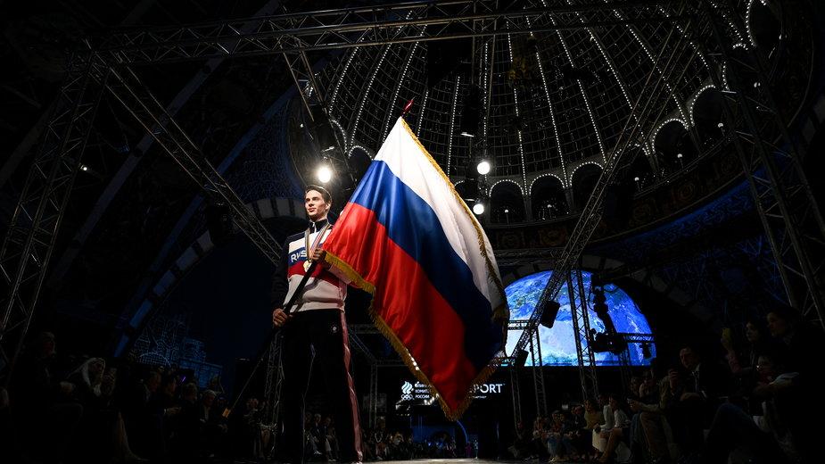 Prezentacja rosyjskich strojów na igrzyska w Tokio
