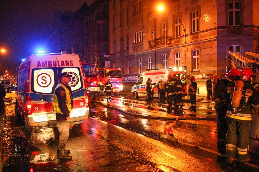 Katowice. Wybuch w kamienicy przy ul. Sokolskiej i Chopina