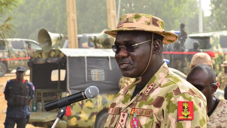 Chief of Army Staff, Lieutenant-General Tukur Buratai