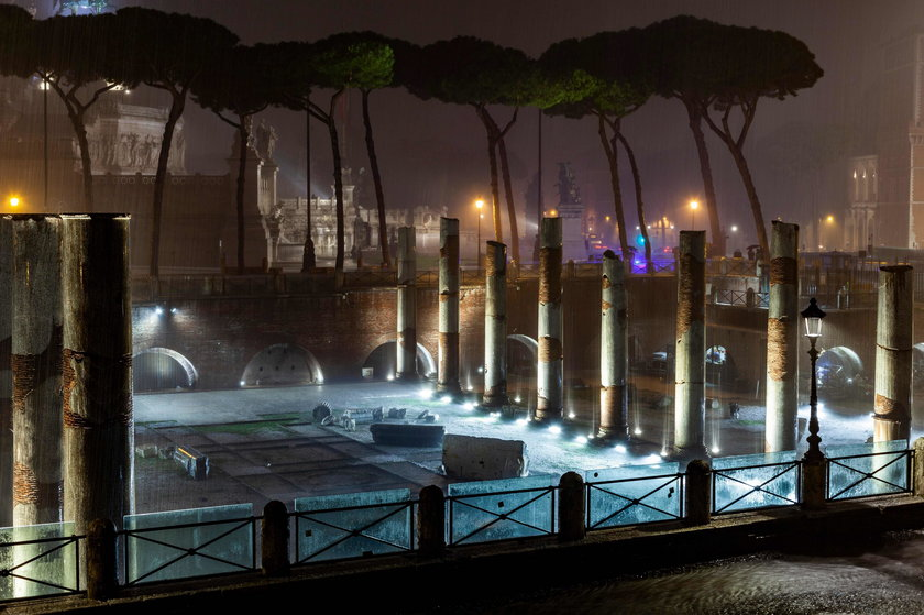 Gradobicie sparaliżowało Rzym!