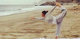 Gwiazdy ćwiczą jogę na Instagramie