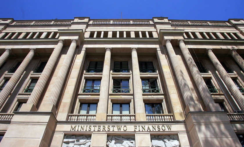 Ministerstwo Finansów.