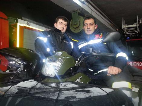 Vatrogasci Milan Vidojević i Miodrag Rajković