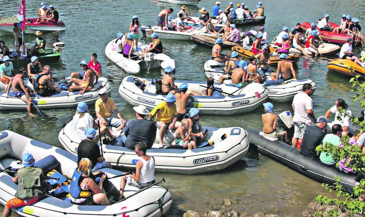 NOVA VAROS 02 veliko interesovanje proslogodisnje regate na radoinjskom jezeru