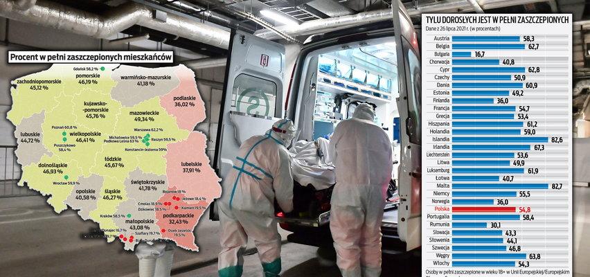 Cała Europa drży przed nawrotem pandemii. W Polsce trzy regiony są najbardziej zagrożone. Jak ruszy Delta, to tu zacznie się czwarta fala