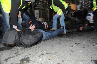 9 zatrzymanych po niedzielnej demonstracji narodowców w Katowicach