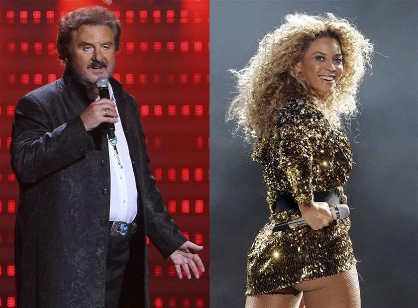 Krawczyk jak Beyonce