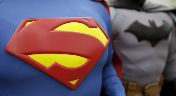 Superjunaci na otvaranju zabavnog parka u Madridu