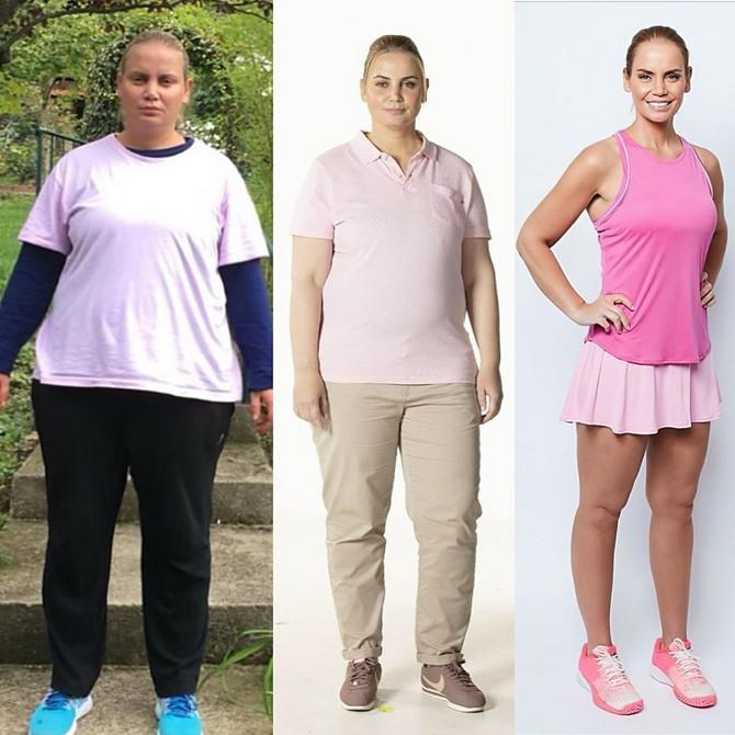 Jelena Dokić 2018. pre dijete, nakon gubitka 22 kilograma i danas
