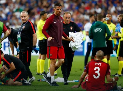 Ronaldo delio savete u finalu EP