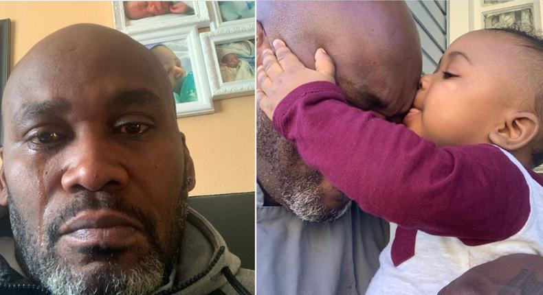 Single father in tears after realising his lovely son and source of joy is for another man (video)