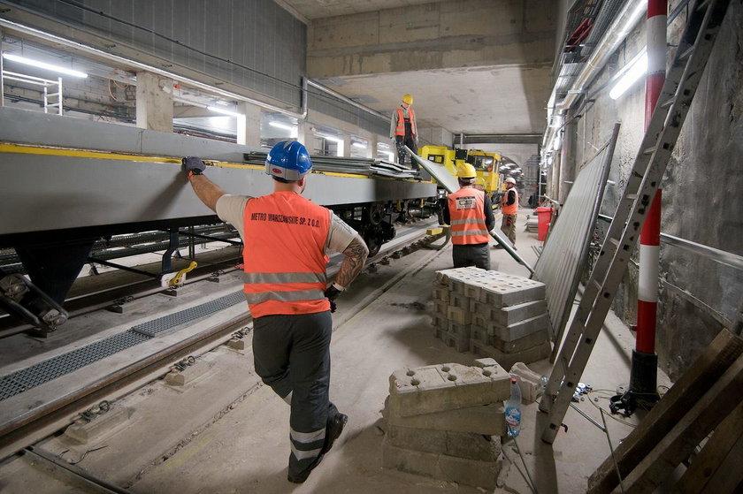 Testują ruch pociągów w metrze