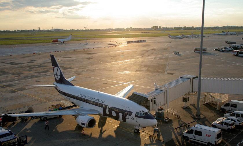 Lotnisko okęcie