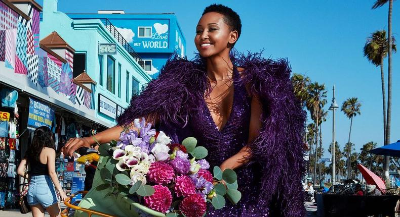 Huddah Monroe speaks after claims she was not featured in American Magazine