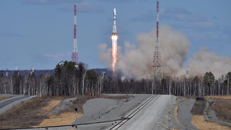 Start rakiety Sojuz 2.1a