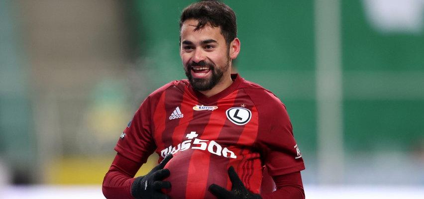 Legia gra we Wrocławiu ze Śląskiem i...Spróbują wygrać bez asa Luquinhasa