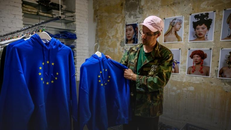 The hooded sweatshirt from a Berlin-based underground label has turned into a must-have fashion accessory for many German candidates in the European elections
