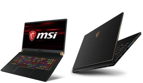 MSI GS65 Stealth i GS75 Stealt – laptopy z kartami GeForce RTX